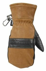 Men s Leather Winter Mittens Water resistant Hydrahyde 100 Gram Thinsulate L