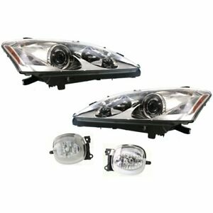 Auto Light Kit New Right and left Lh Rh For Lexus Es350 2007 2009