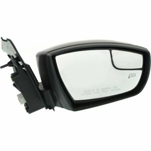 Mirror For 2013 2016 Ford Escape Right Side Manual Fold Heated Paintable