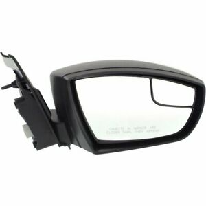 Mirror For 2013 2016 Ford Escape Right Side Manual Fold Textured Black