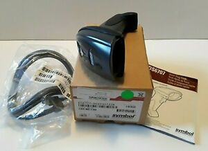 New Symbol Ds6707 dc20107zzr Barcode Scanner With Usb cable In The Box