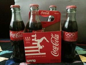 Coca-Cola 4 pack 2012 London Olympic bottles
