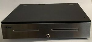 Micros Apg Electronic Cash Drawer Part jd030 9d bl1816 us With Till