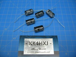 Sc Gha Series Axial Electrolytic Capacitors 250v 33uf 5 Pieces