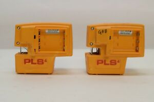 2 Pacific Laser Systems Pls4 Laser Level Beam Square Dot Tool For Parts