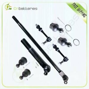 8pc New Front Steering Parts Tie Rod End For 2006 2009 Dodge Ram 1500