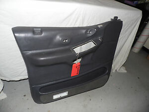 Oem 1999 Ford Expedition Dark Gray Front Driver s Side Door Panel Assembly Lh