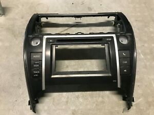 12 13 14 Toyota Camry Radio Cd Outer Mounting Brzel Trim For 86140 06010 Oem
