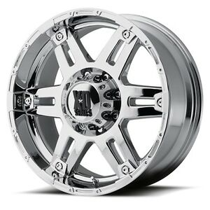 17 Inch Chrome Wheels Rims 2011 2019 Gmc Sierra Truck 2500 3500 8x180 Xd Series