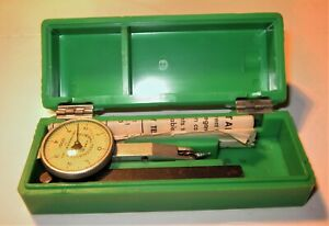 Federal Testmaster T 2 0001 Dial Indicator Fully Jeweled Case Wrench