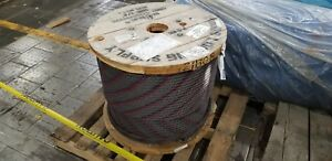 3 4 Wire Rope Cable 1500 Ft 6x36 Ws Iwrc Bulk Sling Choker Winch Line Eips