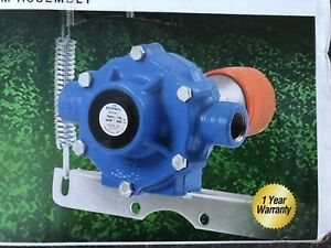 Hypro 7560c Taq 8 Roller Cast Iron Pump W Quick Coupler Arm Open Box Mint