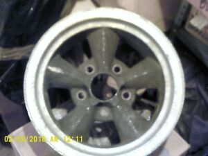 Pair Of Mickey Thompson Vintage Mag Type Wheels
