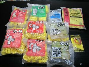 Fi shock Post Electric Fence Insulators Lot Sc 40 70 75 940 950 Bw cp Rp