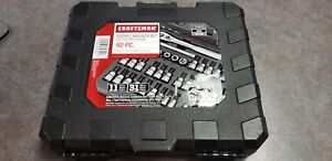 New 9 34845 Craftsman 42 Piece 1 4 And 3 8 Drive Bit And Torx Socket Wrench Set