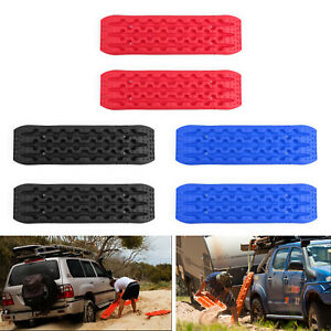 2x Recovery Traction Sand Tracks Snow Mud Track Tire Ladder 4wd Off Road Us
