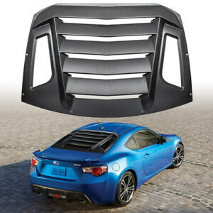 Rear Window Louver Sun Shade Cover For 12 18 Subaru Brz scion Fr s toyota Gt86