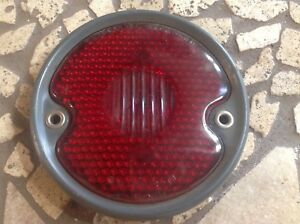 Nos Tail Lamp Light Guide R 13 Vintage Stimsonite Red Glass Guidcolite Standard