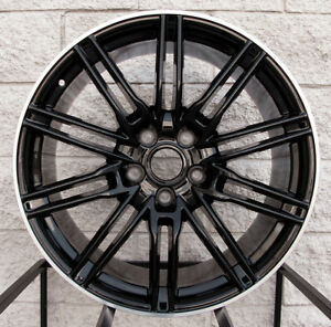 21 Wheels Rims For Porsche Cayenne S Turbo Gts Black Machine Audi Q7 Vw Touareg