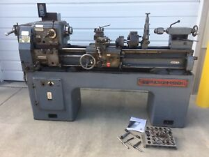 Enterprise 15 x40 Metal Lathe D1 4 220v 1ph In mm Gunsmith Lots Of Tooling