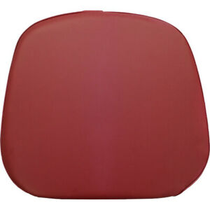 Claret Vinyl Seat Bottom Cushion For Oliver White 1650 1850 2 105 2 155 Tractor