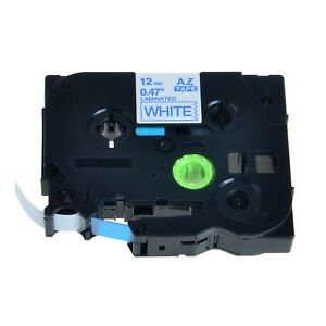 Us Stock 20pk Tz233 Tze233 Blue On White Label Tape For Brother P touch 0 47
