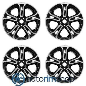 New 20 Replacement Wheels Rims For Ford Explorer 2013 2015 Set Machined With Bl