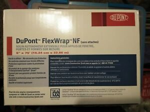 1 dupont 6 x 75 Sealed Flexwrap Box Sill Tape Tyvek Carpentry Flashing Flash