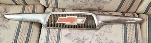 Vintage 1956 Chevy Pickup Truck Hood Grill Emblem Ornament Chevrolet