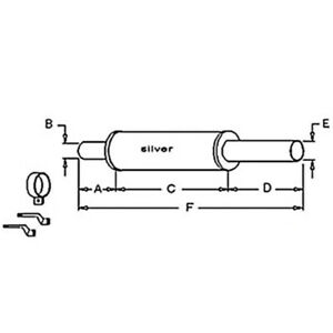 70229531 Muffler For Allis Chalmers Wc Wd Wd45 D17 170 175 Series Iii
