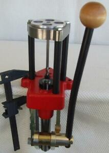 Lee Classic Turret Press & Needed Accessories to Load Pistol & Rifle Cartridges