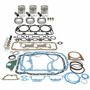 Bekf2010d lcb Basic Engine Overhaul Kit For Ford New Holland Tractor 4000