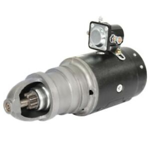 1107758 9 Teeth 12v Delco Starter For Allis Chalmers Ac Tractor I 600 D14 D15
