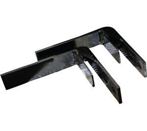 Universal Tool Box Mounting Brackets For Tractors Trucks Forestry Equipment