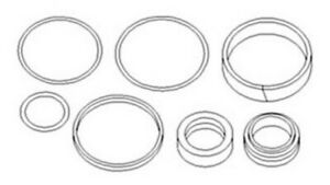 3484807m1 New Massey Ferguson 4wd Tractor Steering Cylinder Seal Kit 340 350