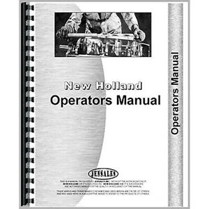 New Holland 67 Baler Operators Manual