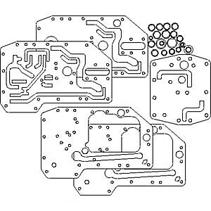393877r93 Gasket Set Mcv For International 706 756 766 786 806 826 Tractors