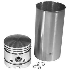 Pk8 Sleeve Piston Kit For Ford New Holland 09 Sleeves 4 Ring Piston