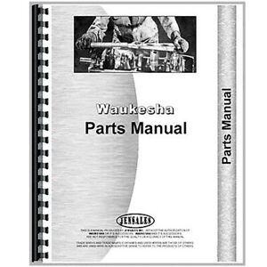 Waukesha 140 Hk Engine Parts Manual
