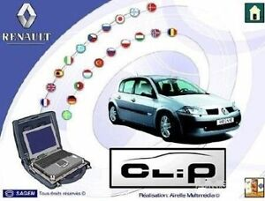 Renault Can Clip V180 Software Downloadable