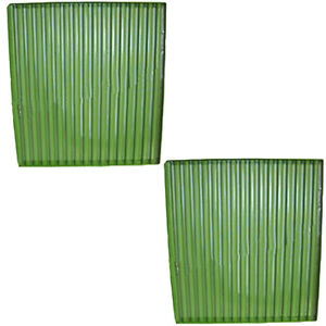 Ar69164 Two Grill Side Screens one Pair Fit John Deere 8430 8440 8630 8640
