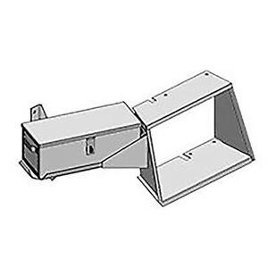R6990 Step Toolbox For Allis Chalmers Tractor 7000 7030 7040 7050 7060 7080