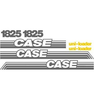 New Whole Decal Set W Uni loader Decals For Case Skidsteer 1825 Ns new Style