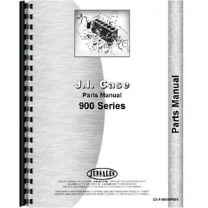 New Case 900 Tractor Parts Manual
