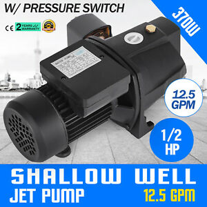 1 2 Hp Shallow Well Jet Pump W Pressure Switch 110v Ho Mes Supply Water Cabins