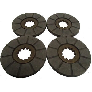 4 Brake Discs Fits Farmall M Super M Mta W 6 400 450 1640 1644 503 615 715