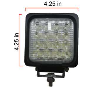 Led740f 3280 Lumens Square Led Flood Light 9v 32v 4 25 X 4 25