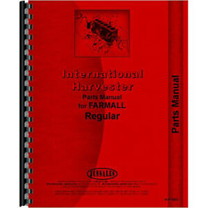 New Mccormick Deering Ihc Reg And Fairway Tractor Parts Manual