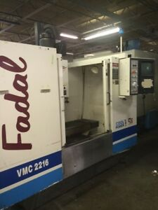 1998 Fadal 2216 Cnc Vertical Machining Center Vmc Michigan