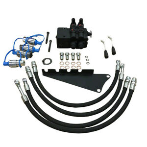 Dual Hydraulic Valve Kit For Massey Tractor 230 240 245 250 265 270 275 283 290